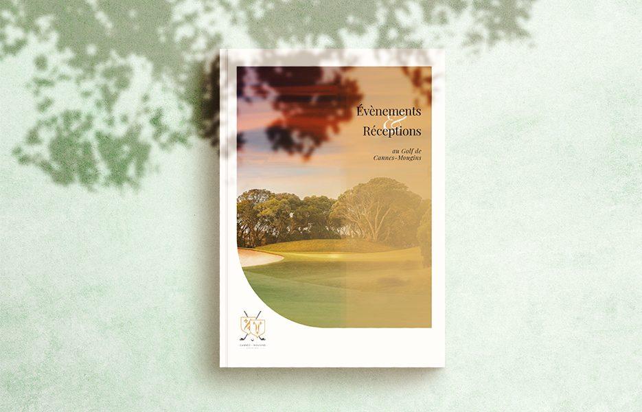 Brochure commerciale Golf Cannes-Mougins
